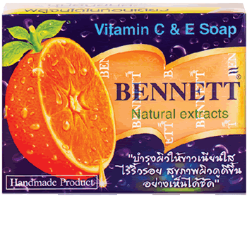 Bennett Natural Vitamnin C & E Soap