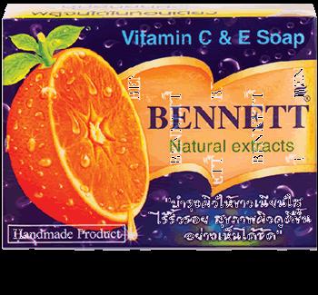 Bennett Natural Vitamnin C & E Soap