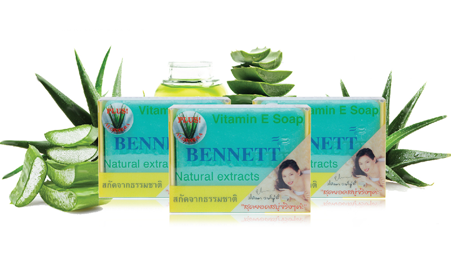 Natural Aloe Vitamin E Soap