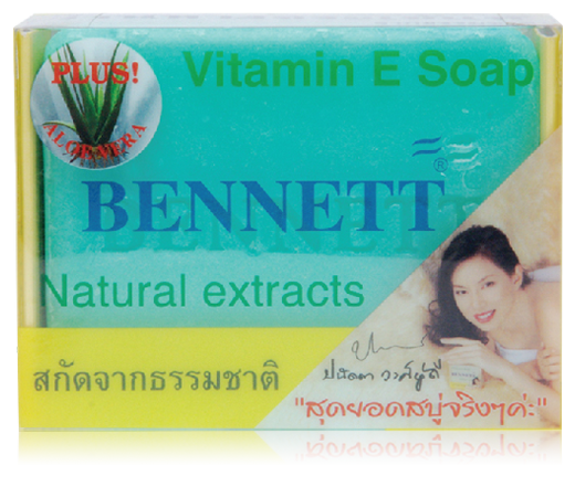 Vitamin E soap with Aloe Vera